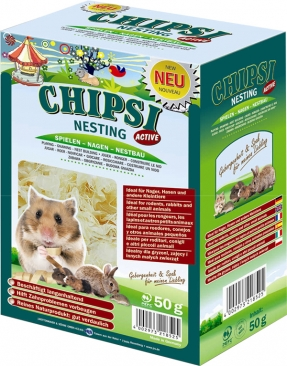 JRS Cats Best Chipsi Nesting Active 50g