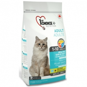 1ST CHOICE Cat Indoor Sensitive Skin&Coat Salmon 350g
