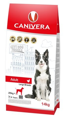CANIVERA Adult Large Breed Chicken&Rice 14kg+3kg GRATIS