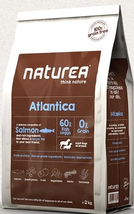 NATUREA Grain Free Atlantica Salmon 12kg