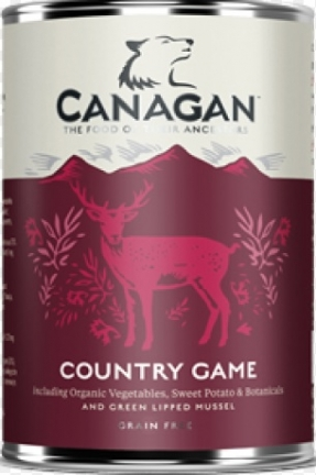 CANAGAN Dog Country Game puszka 400g