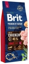 BRIT Premium By Nature Adult Large 15kg+3kg GRATIS