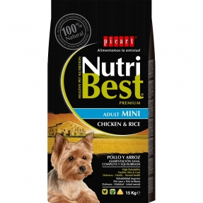 PICART Nutribest Adult Chicken & Rice Mini 3kg
