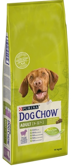 PURINA DOG CHOW Adult Lamb 11kg+3kg GRATIS